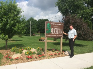 The Tomlinson Arboretum is one of many beautiful park areas in Clinton Township.