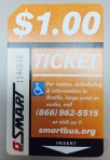Qualified residents are eligible for 30 Smart Bus tickets per quarter.